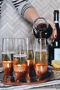 Earl Grey Infused Champagne Cocktail, How to Choose a Signature Wedding Cocktail