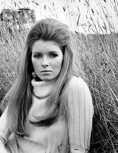 Martha Stewart when she was a model