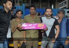 Emraan Hashmi at a promotional event of 'Ungli' in Mumbai