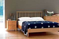 Ercol beds combine style with added comfort, whilst our wardrobes and range of chest of drawers give you plenty of practical storage.  Bedside cabinets and blanket boxes complete the ensemble. Our bedroom furniture couples the beauty of the timber with lovely detailing in the shapes and joints and with a range of styles there is bound to be one that's right for your bedroom.