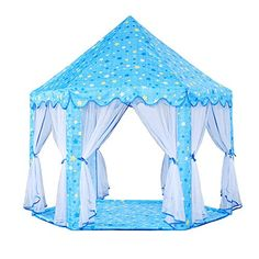 Jacone Girls Princess Castle Play Tent Indoor and Outdoor... #aff  sc 1 st  Pinterest & Tent heater stove | Stove and Tents