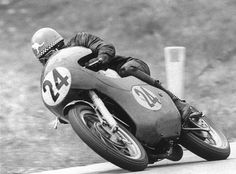 Jack Findlay racing a matchless motorcycle - winning him the championship at the grand prix