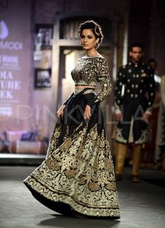 India Couture Week: Kangana walks for Anju Modi | PINKVILLA