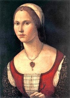 Vittore Carpaccio (Italian High Renaissance Painter, ca.1450-1525) Portrait of a Young Woman