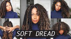 Soft Dread Crochet Braids   Feat Toyokalon