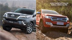 Toyota Fortuner 2016 và Ford Everest 2015