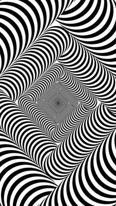 Dentro y fuera de doble flecha ilusión óptica