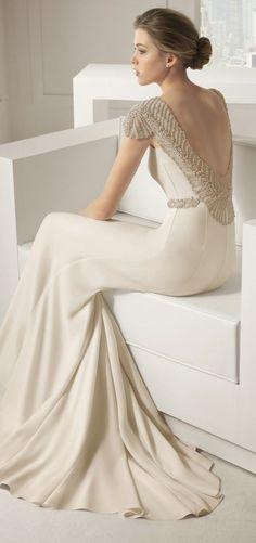Elegant v-back dress to try (27)