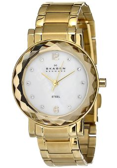 Price:$83.88 #watches Skagen 457SGGX, Stainless steel case, Stainless steel bracelet, Mother of Pearl dial, Quartz movement, Scratch-resistant mineral, Water resistant up to 3 ATM - 30 meters - 100 feet
