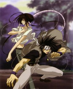 Shido & Kazuki. Get Backers
