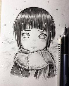 ✔ Anime Dibujos A Lapiz Naruto Anime Naruto, Naruto Y Hinata, Hinata Hyuga, Naruto Shippuden Anime, Naruto Art, Anime Chibi, Manga Anime, Naruhina, Anime Wolf