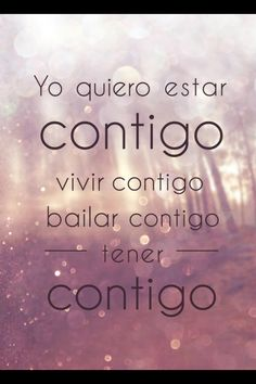 """Bailando Lyric Art """"I want to be with you, dance with you, live with you, have you"""""""