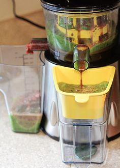Juicing. Fresh juice is jam packed with nutrients and live enzymes. Don't be intimidated by a juicer!