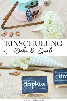 Ideas for a school enrollment party - Einschulung - Enschulung Diy Gift For Bff, Diy Gifts For Kids, Gifts For Family, Mothers Day Crafts For Kids, Diy Mothers Day Gifts, School Enrollment, Kindergarten Lesson Plans, Mother's Day Diy, School Parties