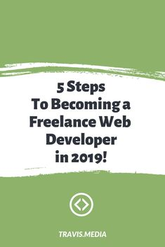 5 Steps to Become a Freelance Web Developer in 2019 This year I believe you could easily at least freelance on the side and make some cash. What steps to you need to take to become a freelance web developer? Is there a process? a proven path to succes Web Design Websites, Online Web Design, Free Web Design, Web Design Quotes, Creative Web Design, Website Design Services, Web Design Tips, Web Design Tutorials, Web Design Trends