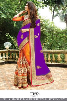 Buy Party wear Sarees Online with All Types Collections Like Designer Party Wear saree,Bollywood party wear saree,Silk Party wear saree,wedding party wear saree and More. Party Wear Sarees Online, Party Sarees, Buy Sarees Online, Purple Saree, Bollywood Party, Net Saree, Traditional Sarees, Beautiful Saree, India Beauty