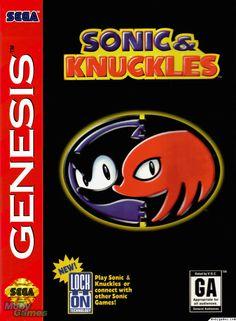 Sonic & Knuckles Sega Genesis