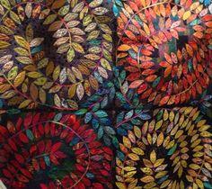 Karen K Stone quilt from her Trunk Show..lovely:)