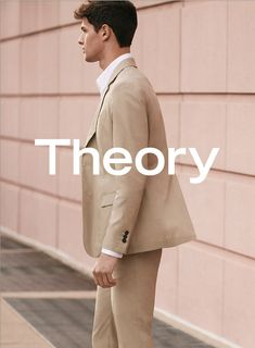 Hannes Gobeyn photographed by Daniel Riera for Theory's spring-summer 2016 campaign