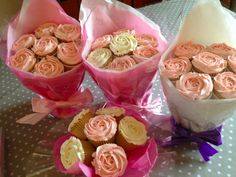 cupcake bouquets | Cupcake bouquets from A Little Cake, Pangbourne, Reading, Berkshire