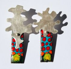Elza Pereira - Enamel Jewelry: Earrings (news)