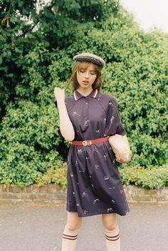 6b103a5511 Hands Dancing Tee Dress (Navy) – Miss Patina Hand Dancing, Tee Dress,