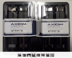 Mac Pro 4GB (2x2GB) DR2-800 ECC DiMM AX2800F5S