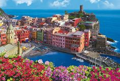 Italian Culture | Vernazza – 1 of 5 towns that make up the Cinque Terre region