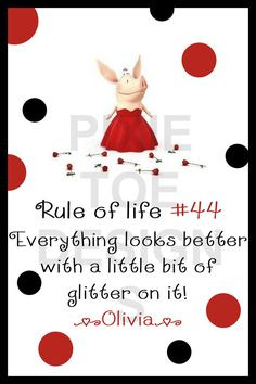 Rule of Life Everything looks better with a little bit of glitter on it! Unicorn And Glitter, Glitter Girl, Sparkles Glitter, Great Quotes, Me Quotes, Funny Quotes, Inspirational Quotes, All Things Cute, Girly Things