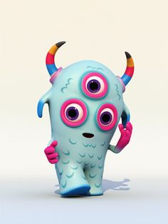 Bulls eye pixy, by teodoru monster characters, cute characters, cartoon characters, clay Alien Character, Character Concept, Character Art, Clay Monsters, Little Monsters, Monster Characters, Cute Characters, Cartoon Characters, Toy Art