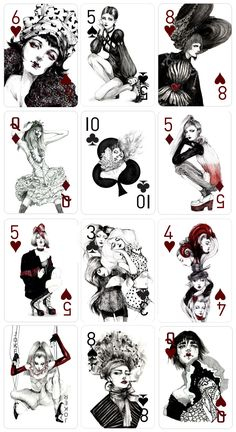 Decked Out: Fashion Playing Cards by Connie Lim — Kickstarter