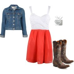 Country Girls!! MAYBE NOT WITH THE POINTY BOOTS BUT I LIKE THIS OUTFIT!!