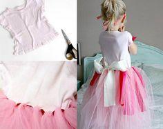 Disfraz de princesa hecho a mano. Vestido princesa casero y fácil. Hacer un vestido de princesa con materiales de casa.