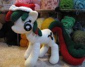 Holly Berry Pattern My Little Pony par NerdyKnitterDesigns sur Etsy Crochet Patterns Amigurumi, Amigurumi Doll, Crochet Toys, Crocheted Animals, Free Crochet, Crochet Round, Yarn Needle, Yarn Crafts, My Little Pony