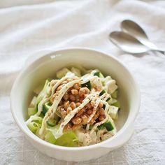 豆腐と納豆のマヨネーズサラダ