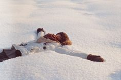 snow angel...Can I do this today?