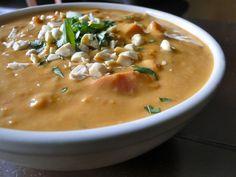 Thai Peanut Soup (Vegan, GF)