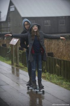 Still of If I Stay Chloe Moretz.. love this outfit