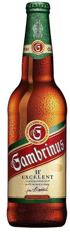 Gambrinus 11° beer from Pilsen, Czechia #beer #Czechia