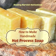 MAKE YOUR OWN SOAP! My Favorite Hot Process Recipe!