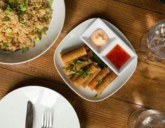 Lumpia Lumpia, Indonesian Cuisine, Waffles, Breakfast, Food, Morning Coffee, Essen, Indonesian Food, Waffle
