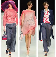 Донесения Милане: Джорджио Армани   мода, тенденции, советы по красоте и знаменитости Стиль журнала   журнала Elle Великобритания