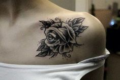 32 Beautiful Rose Tattoos for Women