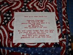 quilts of valor label | military quilts - a gallery on Flickr