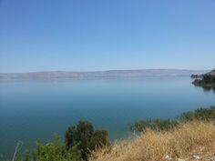 Le lac de Tibériade