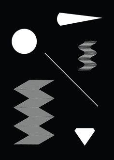 Geometry / Minimal / Black & White / Composition