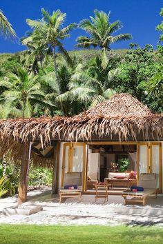 Perfect beach house in Fiji