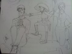 Sherlock and Molly's girl playing pirate :) ship it