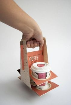 Coffee Bag by Camila Henríquez
