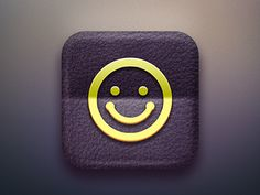 Smile Icon  by Sattawat